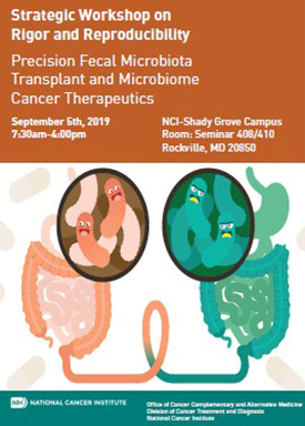 Strategic Workshop on Rigor and Reproducibility: Precision Fecal Microbiota Transplant and Microbiome Cancer Therapeutics